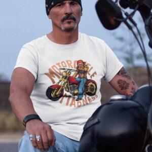 potiskana majica motorcycle madness majica za motoriste dtg tisk zabavno smešno bikers tiskarna garderoba ljubljana dtg tiskanje osebni prevzem dostava po pošti spletni nakup udobno za nosit obstojen tisk