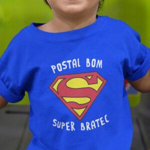 Potiskana majica postal bom super bratec otroška majica bratec dojenček rojstvo superman družina zabavno tiskarna garderoba ljubljana tisk na majice unikati dtg tisk printing kvalitetno obstojno udobno spletni nakup dostava po pošti osebni prevzem