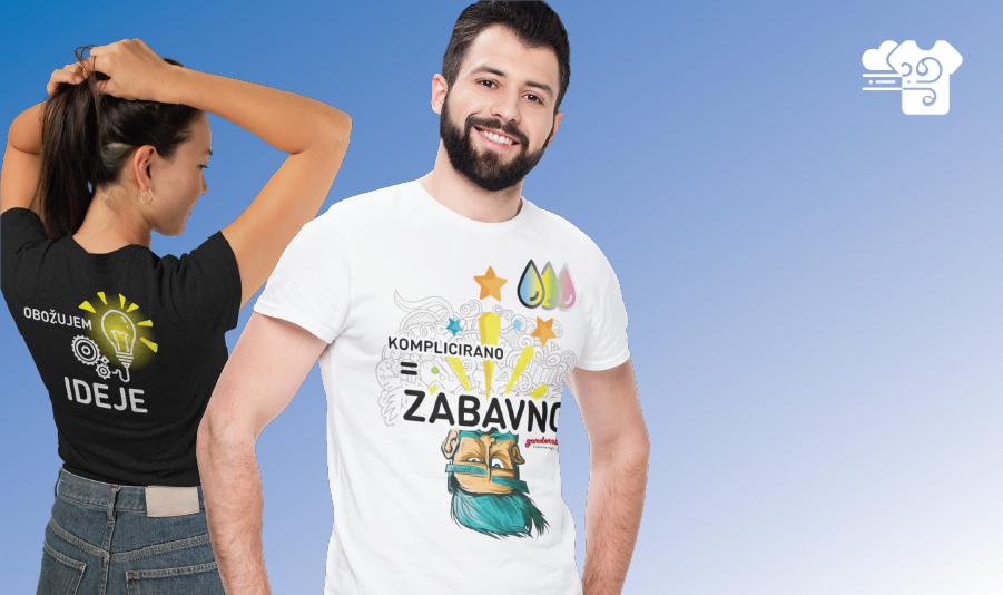 Teesky partnerji garderoba garderoba tiskarna majic unikatni tisk banner veliki 01 8