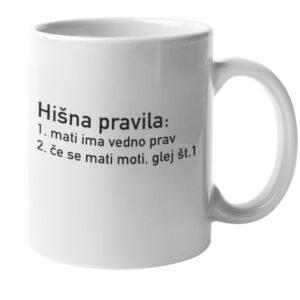 Hisna_pravila_skodelica_bela_mami_unikatni_tisk_garderoba