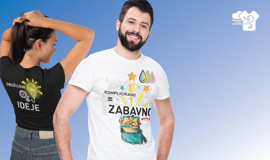 Garderoba - Tiskarna unikatnih majic