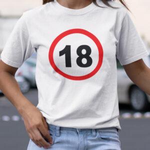 prometni znak 18 majica